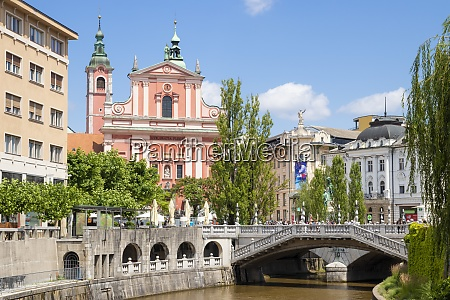 the pink franciscan church of the