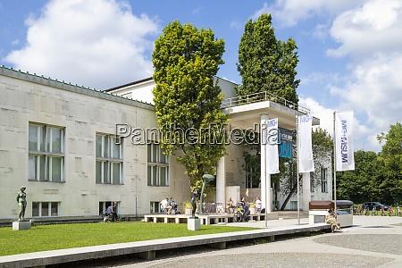 the entrance to the ljubljana museum