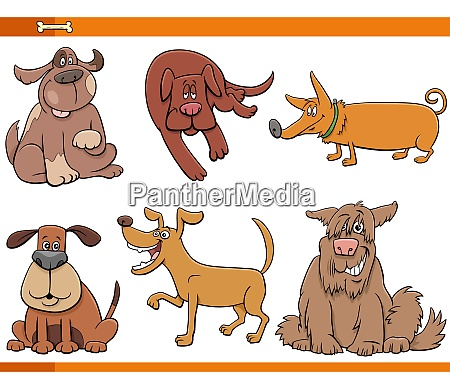 cartoon dogs and puppies animal characters