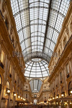 the galleria vittorio emanuele ii an