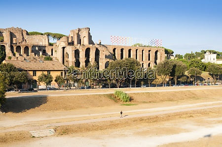 circus maximus remains of imperial palaces