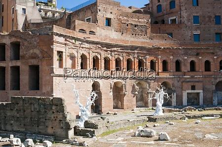 trajans forum unesco world heritage site