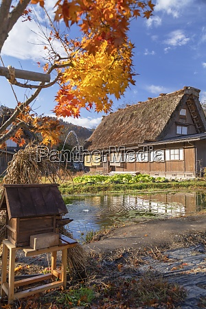 traditional house of ogimachi unesco world