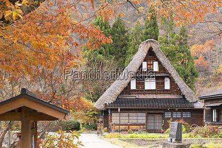 traditional house of suganuma unesco world