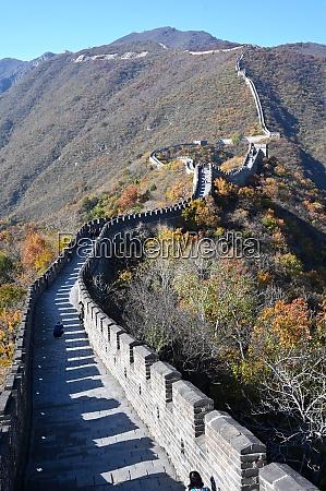 great wall of china mutianyu section