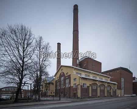 turku energy station turku finland europe