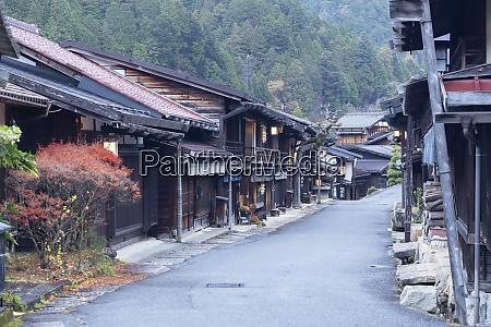 traditional, buildings, on, nakasendo, way, , tsumago, - 28837663
