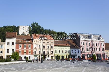 piata sfatului council square brasov transylvania