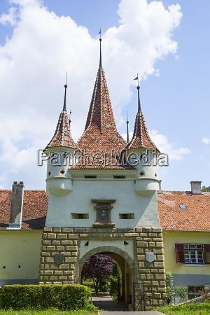 catherines gate brasov transylvania region romania