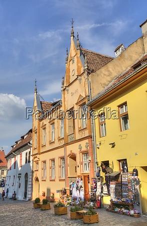 medieval buildings sighisoara unesco world heritage