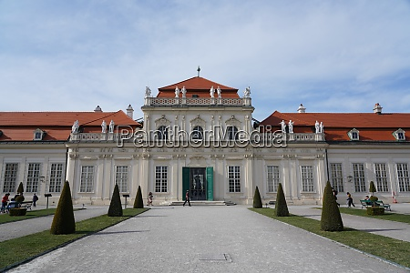 lower belvedere vienna austria europe