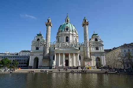 karlskirche a baroque church located on