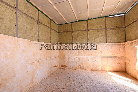 additional thermal insulation of the house