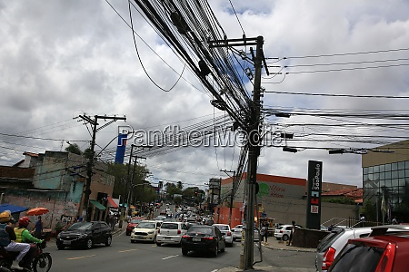 electrical pole post wiring