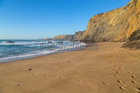 atlantic isolated beach