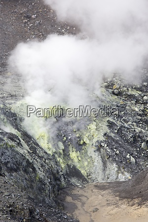inside crater view close to manado
