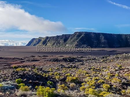lava in valley of piton de