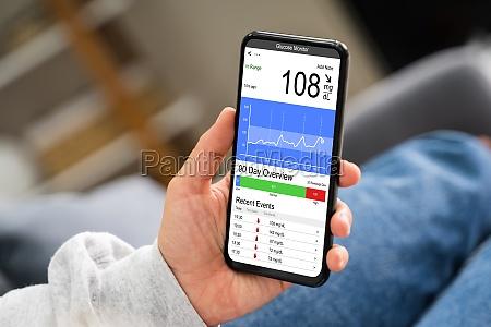 continuous glucose monitor blood sugar