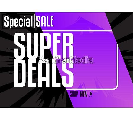 comic book sale social media post