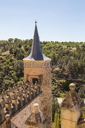 alcazar castle of segovia