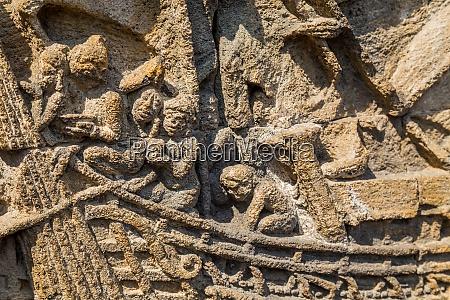 details in borobudur temple