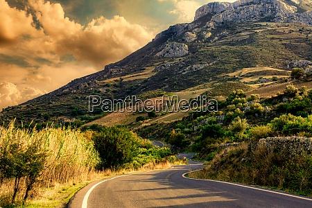 mountain roads of crete