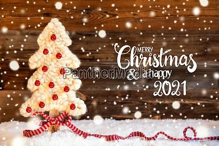 fabric christmas tree ball snow merry