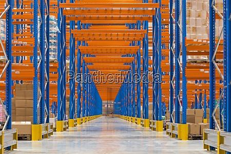 corridor way warehouse