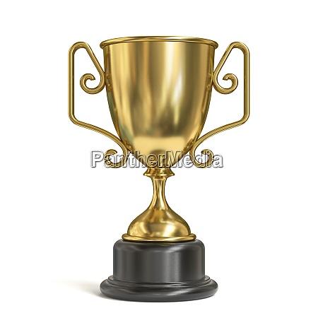 golden trophy 3d
