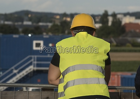 safety helmet as protection for the