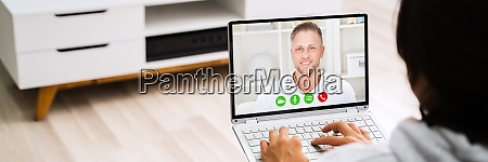 online dating video conference call