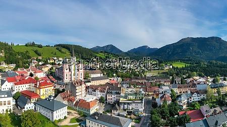 mariazell basilica in styria austria
