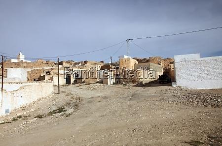 an arab village of matmata in