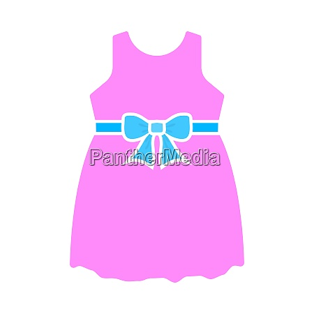 baby girl dress icon