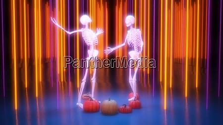disco nightclub halloween background