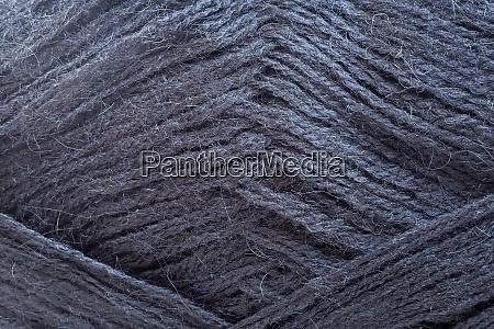 skein of wool yarn for knitting