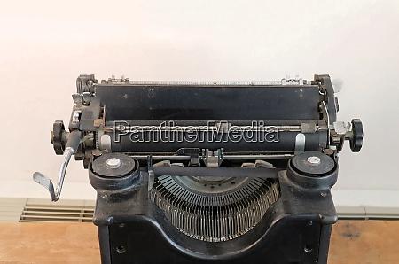 retro manual typewriter machine