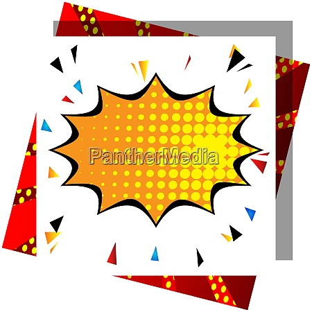 cartoon design colored background comic book