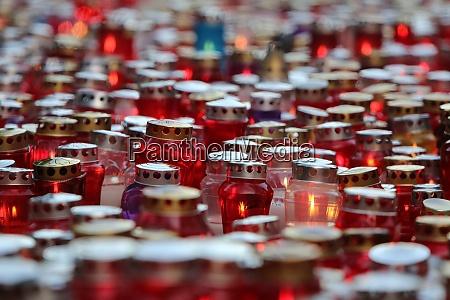 zagreb cemetery mirogoj on all saints
