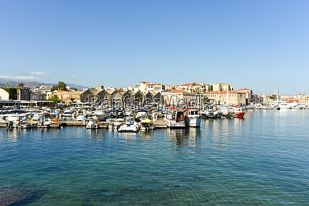 the famous old harbor of chania