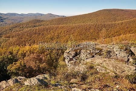 autumn hills landscape