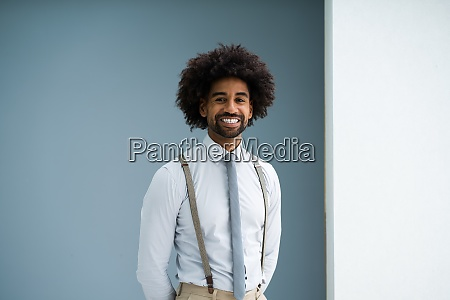 young african american accountant