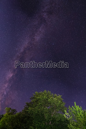 milky way galaxy and many different