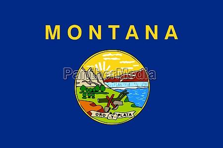 montana state flag