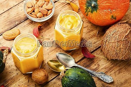 delicious pumpkin smoothie