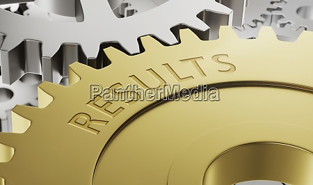 metal gear wheels with the engraving