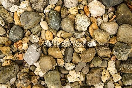 pebble stones closeup full framed