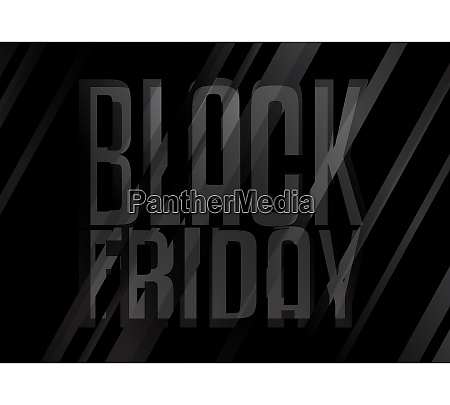 black friday poster vector illustrated abstract