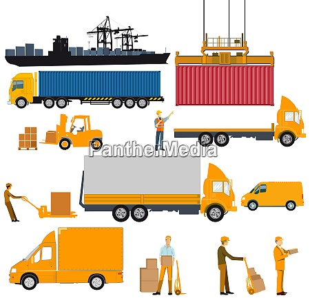 logistics industry shipping and delivery