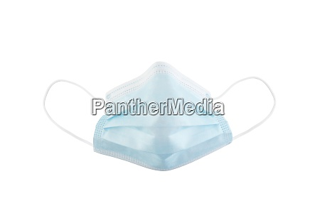 surgical or medical mask with rubber